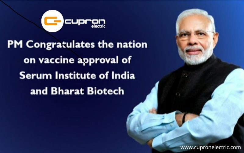 Congratulations Serum Institute and Bharat Biotech