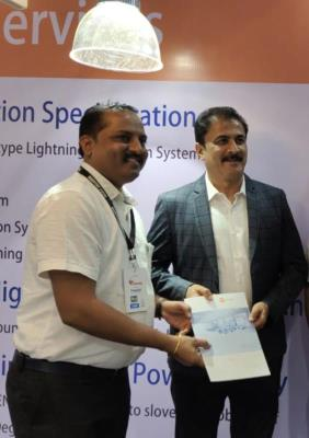 Mr. Sanjay Ghodawat Visited To Cupron Electric Stall @ Habitat2020