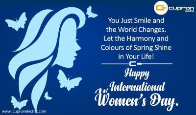Happy Women's Day...!!!
